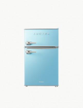 [추석특가 기획전] 코스텔 클래식 레트로 냉장고 86L 스카이 블루 CRS-86GABU