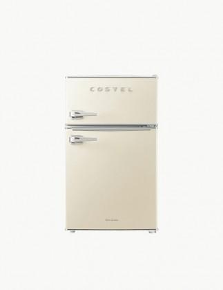 [추석특가 기획전] 코스텔 클래식 레트로 냉장고 86L 크림 아이보리 CRS-86GAIV