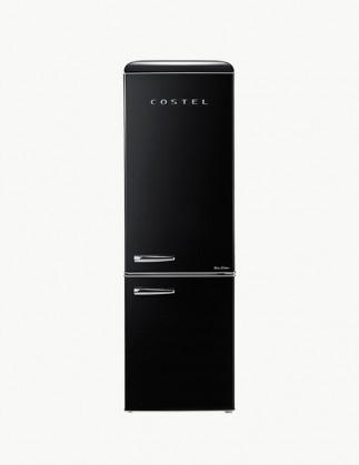 [추석특가 기획전] 코스텔 클래식 레트로 냉장고 300L 엣지 블랙 CRS-300GABK