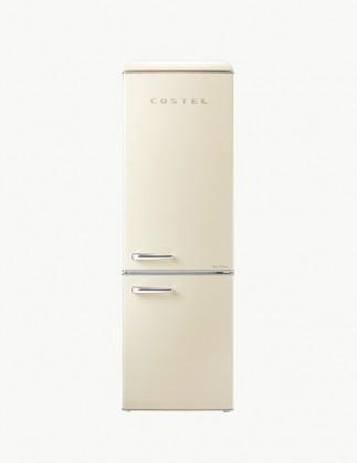 코스텔 클래식 레트로 냉장고 300L 크림 아이보리 CRS-300GAIV