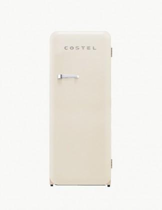 코스텔 모던 레트로 냉장고 281L 크림 아이보리 CRS-281HAIV